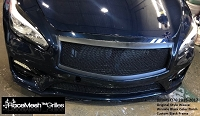 Infiniti Q70 (2015-2017) Upper Main & Lower Valance RaceMesh Grilles