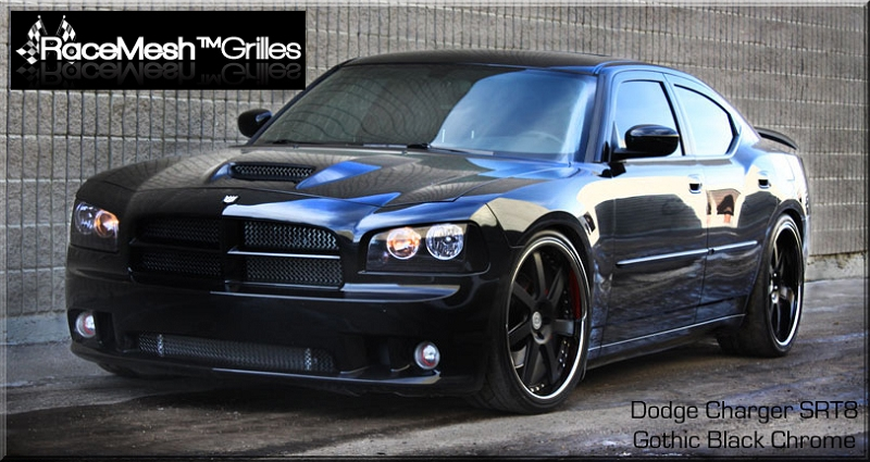 Dodge Charger Srt8 2006 2010 3 Piece Combo Gothic Style