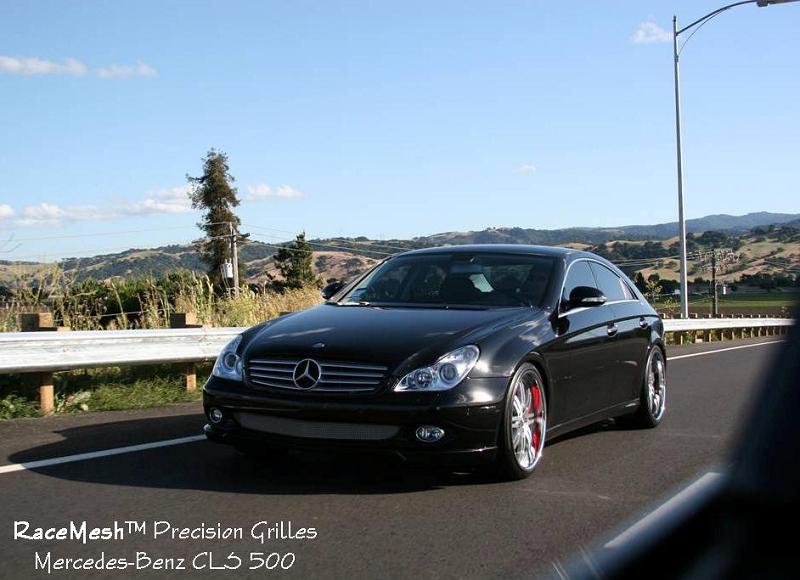 Mercedes benz w219 cls500 cls550 2006 2009 lower valance for 2009 mercedes benz cls 500