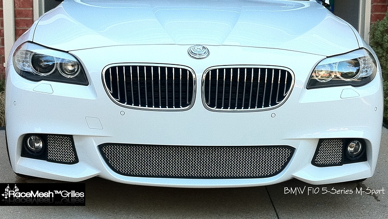 Bmw F10 M Sport 3 Piece Lower Valance 2009 2015