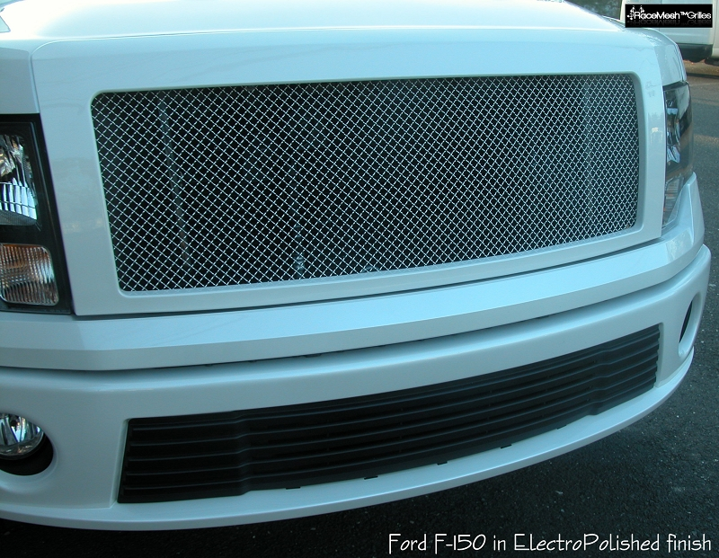 Ford F 150 2009 2014 Upper Grille