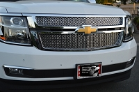 CHEVY Tahoe/Suburban Upper Grille  (2015-2020 )  Original Style weave