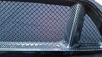 Ford Mustang S550 (2015-2017) Upper and Lower 3-Chamber Version RaceMesh Grilles SET - Original Crimp Style Weave