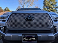TOYOTA Tacoma ( 2016- 3rd Gen ) Upper Grille - Gothic Style Weave