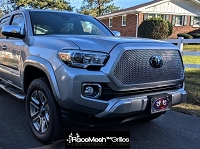 TOYOTA Tacoma ( 2016- 3rd Gen ) Upper Grille - Original Style Weave