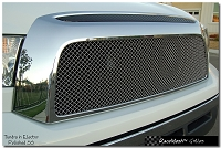 TOYOTA Tundra (2007-2009) Upper Grille - GOTHIC Style weave
