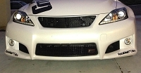 LEXUS IS-F Upper Grille in GOTHIC Style weave