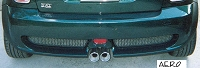 Mini Cooper S AERO  - set of 2 Rear Diffuser Inserts R53