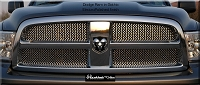 DODGE Ram 1500 (2009-2012) Upper Grille - Original Crimp Style Weave
