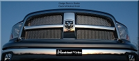 DODGE Ram 1500 (2009-2012) Upper Grille - GOTHIC Style Weave